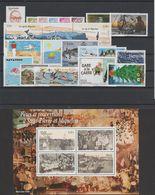 Saint Pierre Et Miquelon Année Complète 2010, 966 à 990 - Annate Complete