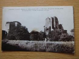 CRISSAY 1933 Ruines Du Château Féodal - Autres Communes