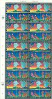 O N U GENEVE N° 227 / 230 Nxx En Feuille De 10 Blocs De 4 Tb Cote : 88 €. - Unused Stamps