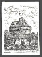 Saint-Malo - Le Château - Illustration Henry Touleron - Saint Malo