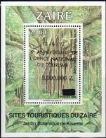 Zaire 1990 Ocbn°  Bloc 67 *** MNH Met Opdruk Surchargé 12-6-1992 - Zaïre