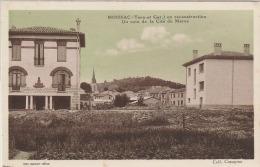 OP6- 82) MOISSAC (TARN ET GARONNE)  EN RECONSTRUCTION -  UN COIN  DE LA CITÉ DU MAOC   -  (2 SCANS) - Moissac