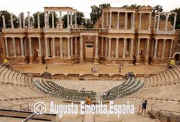 T28-014 ]  Archaeological Ensemble Of Mérida Spain Augusta Emerita UNESCO, China Pre-stamped Card, Postal Stationery - UNESCO