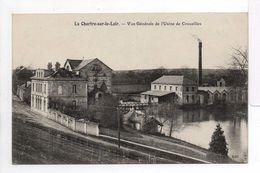 - CPA LA CHARTRE-SUR-LE-LOIR (72) - Vue Générale De L'Usine De Crouzilles - Edition Bouveret - - Autres Communes