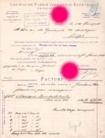 Francfort Frankfurt 1905 CHEMISCHE FABRIK GRIESHEIM ELEKTRON - Allemagne