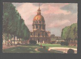 Paris - Hôtel Des Invalides - Collection De Luxe 'Heures Calmes De Paris' - 1948 - Oeuvre Paul David Faure - Frankrijk