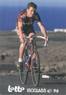 CYCLISME RIK VERBRUGGHE (LOTTO ISOGLASS) - Cyclisme