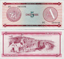 Cuba 1985 ND - 5 Pesos - Pick FX3 UNC Seria A - Cuba