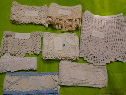 Lot De Dentelle Pour Loisirs Creatifs Ou Confection Robe Poupee Lot 2 - Laces & Cloth