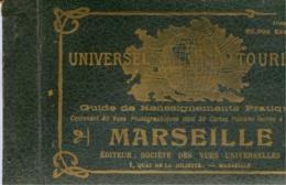 13 MARSEILLE - Guide De Renseignements Pratiques - ALBUM Contenant 40 Vues Photographiques, Dont 20 Cartes Postales - Marseilles