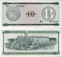 Cuba 1985 ND - 10 Pesos - Pick FX8 UNC Seria B - Cuba