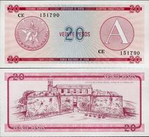 Cuba 1985 ND - 20 Pesos - Pick FX5 UNC Seria A - Cuba