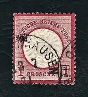 DEUTSCHES REICH 1872 - Aquila A Rilievo In Un Cerchio / Grande Scudo Sull'aquila - 1 G. Rosa Carminio - Michel DR 19 - Germania