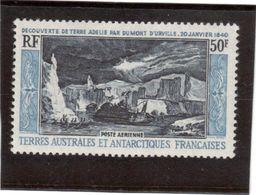 Clmb - TAAF - PA 8 ** (MNH),de 1965 - Découverte De La Terre Adélie Par Dumont D' Urville. - Terres Australes Et Antarctiques Françaises (TAAF)