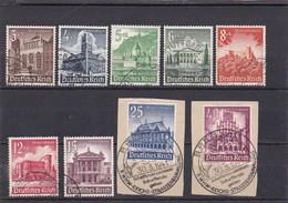Deutsches Reich, Nr. 751/59, Gest. (T 4412) - Usados