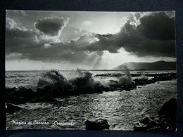 (FG.B05) MARINA DI CARRARA - CREPUSCOLO, MAREGGIATA (MASSA CARRARA) VIAGGIATA 1957 - Carrara