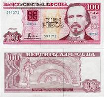 Cuba 2005 - 100 Pesos - Pick 129b UNC - Cuba