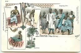 LIBERIA - King Veÿ-John - Bassawoman ...Gruss - Liberia