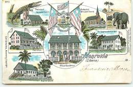 LIBERIA - Monrovia - The Presidents Official Residence - Gruss - Liberia