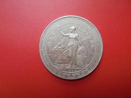 GRANDE-BRETAGNE TRADE DOLLAR 1908 ARGENT - Commercio Esterno, Prova, Contromarca E Ribattitura