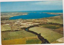 CATERAGGIO,vue Aérienne Corse,village,l'étang De Diana,route De Bord De Mer Corse,aleria,aquaculture, Rare - Non Classés