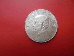 CHINE DOLLAR (YUAN) 1933-34 ARGENT - Cina