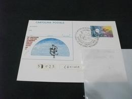 CARTOLINA POSTALE ITALIA 25° ANN. DEL PLANETARIO ASTRONOMICO SARGENTI GALILEO - Astronomia