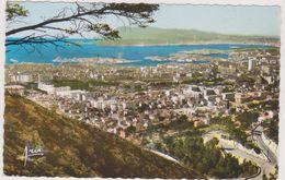 TOULON,vue Aérienne Il Ya 50 Ans,var,vue Sur La Ville,rade,photo Cotée ARIS BANDOL,83 - Toulon