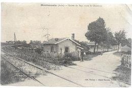 Aube MONTSUZAIN Entrée Du Pays Route De Charmont    ...G - Autres Communes