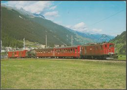 Furka-Oberalp-Bahn Elektro-Lokomotive HGe 4/4  Nr 36 - Reiju AK - Trains