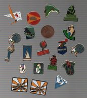 SPORTS..OLYMPIADES..VOILE..DIVERS - Badges