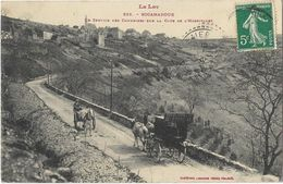 Rocamadour - Le Service Des Courriers Sur La Côte De L'Hospitalet - Rocamadour