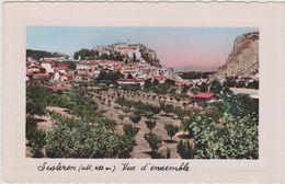 SISTERON ,alpes De Haute Provence,vue Historique,arbres Fruitiés,ville Connu Par Sanofi Aventis,pharmaceutique - Sisteron