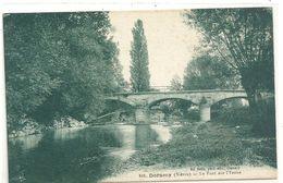 DORNECY .685. LE PONT SUR L'YENNE . ECRITE LE 21 SEPT 1926 AU VERSO - Other Municipalities