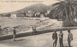 20/ Corse - Ajaccio - Quartier Des Etrangers Et L'Hotel Schwezerhoff - Collection Moretti 1235 - Ajaccio