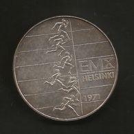 FINLAND - 10 MARKKA ( 1971 - ATHLETIC CHAMPIONSHIPS ) SILVER - AG - Finlandia