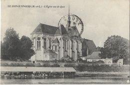 Le Lion D'Angers - L'Eglise Vue Du Quai - Angers