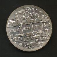 FINLAND - 25 MARKKA ( 1979 - 750th Anniversary Of TURKU ) SILVER - AG - Finlandia