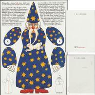 Allemagne Fédérale 1992. Télégramme De Luxe. Création D'un Pantin Pour Les Enfants. Lapin Dans La Moustache - Lapins