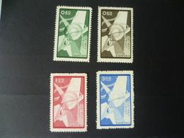 TIMBRE CHINE FORMOSE N° 275 / 278  NEUF SANS GOMME - 1945-... République De Chine