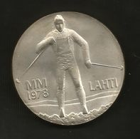 FINLAND - 25 MARKKA ( 1978 - Winter Games In LAHTI ) SILVER - AG - Finlandia