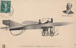 21/ Les Aviateurs Dijonnais - R. Million Sur Monoplan Chesnay - Dijon