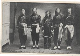 ARTISTES DE CIRQUE CHINOIS Qui Se Sont Produits à St Mandé - Années 1910 - Circo