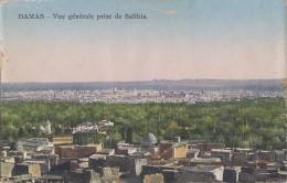 Syrie - Damas - Vue Générale Prise De Salihia - Syria