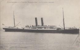 """Bâteaux - Paquebot Transatlantique """"Le Versailles"""" - Saint-Nazaire - 1908 - Paquebots"""