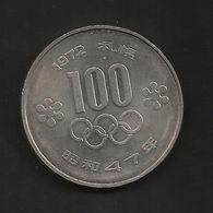 JAPAN - 100 YEN (1972 - SAPPORO WINTER OLYMPIC GAMES) - Giappone