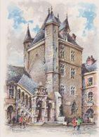 Carte Postale       BARRE  DAYEZ       DIJON  La Tour De Bar     2081 B - Dijon