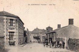 Venansault : Une Rue - Frankreich