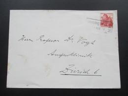 Schweiz Brief 1940 Bahnspost Stempel Oensingen S.B.B. - Briefe U. Dokumente