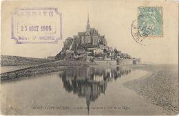 Le Mont St-Michel - Côté Sud, Vue Prise à L'est De La Digue - Le Mont Saint Michel